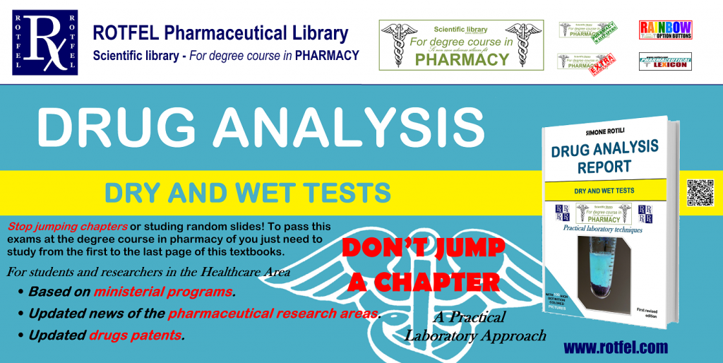 Drug Analysis Report - For degree course in pharmacy by Simone Rotili