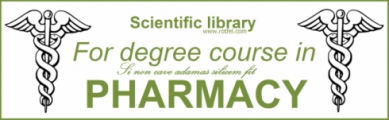 Scientific library For degree course in PHARMACY