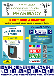ROTFEL Drug Analysis Report - For degree course in pharmacy by Simone Rotili